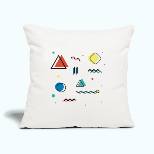Abstract geometry - Sofa pillowcase 17,3'' x 17,3'' (45 x 45 cm)