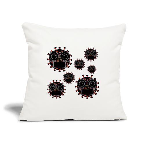 virus eseguire coronavirus covid19 allarme virus - Copricuscino per divano, 45 x 45 cm