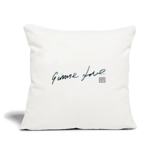GIMME LOVE range - Sofa pillowcase 17,3'' x 17,3'' (45 x 45 cm)