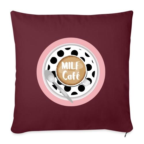 Milfcafé - MILF Logo Instagram Blogger Musthave - Sofakissenbezug 44 x 44 cm