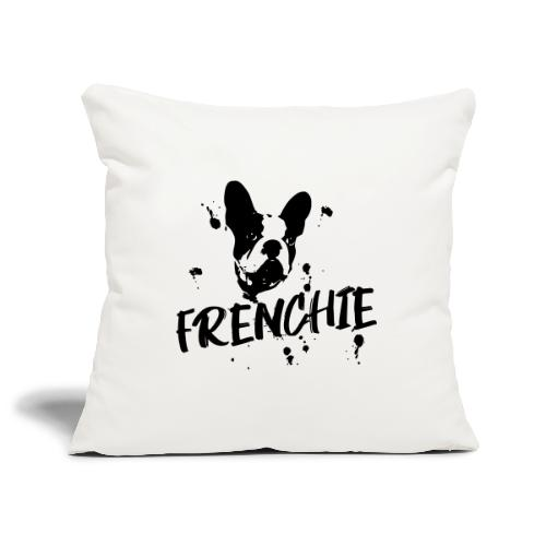 Französische Bulldogge / Frenchie / French Bulldog - Sofakissenbezug 44 x 44 cm
