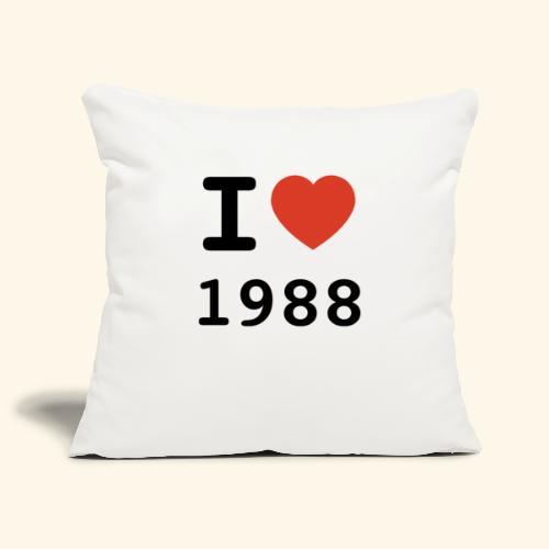 I Love 88 b 001 - Sofakissenbezug 44 x 44 cm