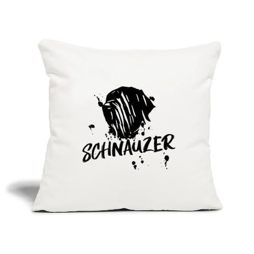 Riesenschnauzer / Schnauzer Comic Design Geschenk - Sofakissenbezug 44 x 44 cm
