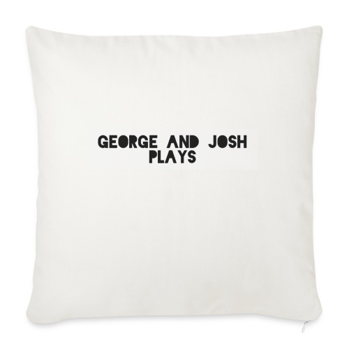 George-and-Josh-Plays-Merch - Sofa pillowcase 17,3'' x 17,3'' (45 x 45 cm)