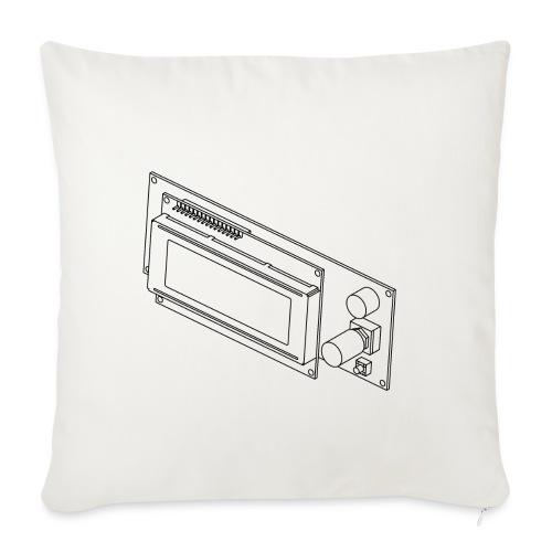 2004LCD (no text). - Sofa pillowcase 17,3'' x 17,3'' (45 x 45 cm)
