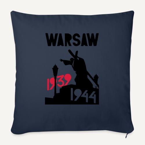 Warsaw 1939-1944 - Poszewka na poduszkę 45 x 45 cm
