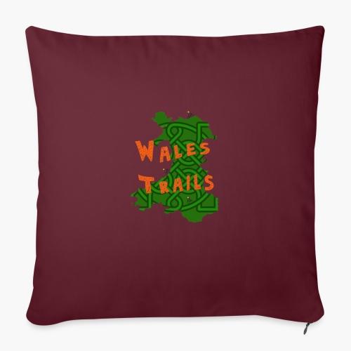 Wales Trails - Sofa pillowcase 17,3'' x 17,3'' (45 x 45 cm)