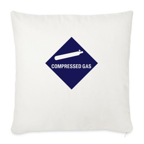 Compressed Gas - Sofa pillowcase 17,3'' x 17,3'' (45 x 45 cm)