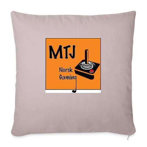 Mtj Logo - Sofaputetrekk 45 x 45 cm
