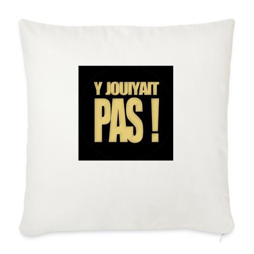 badgejouiyaitpas - Housse de coussin décorative 45x 45cm