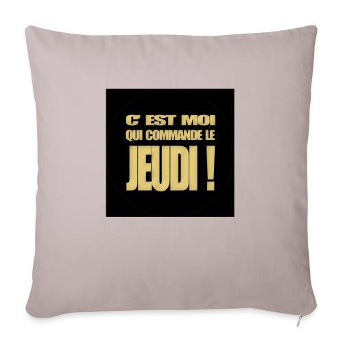 badgejeudi - Housse de coussin décorative 45x 45cm