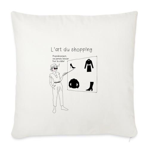 Shopping - Housse de coussin décorative 45x 45cm
