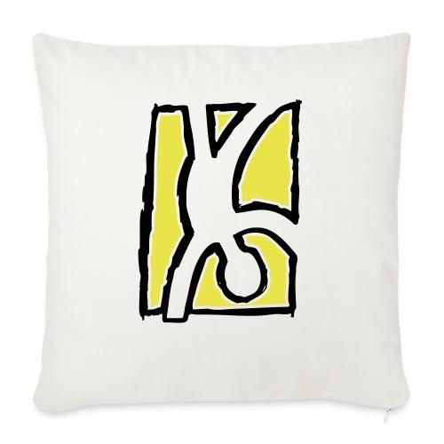 Capoeira: Hand stand - Sofa pillowcase 17,3'' x 17,3'' (45 x 45 cm)