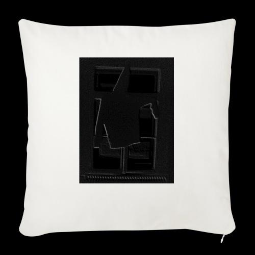 Dark Negative - Sofa pillowcase 17,3'' x 17,3'' (45 x 45 cm)