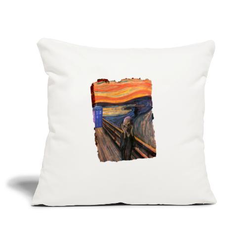 Screaming Tardis - Sofa pillowcase 17,3'' x 17,3'' (45 x 45 cm)