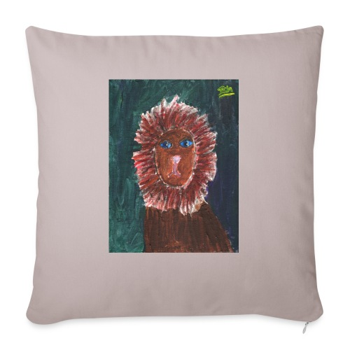 Lion T-Shirt By Isla - Sofa pillowcase 17,3'' x 17,3'' (45 x 45 cm)