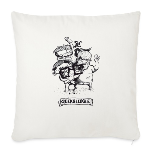 Illu Geeksleague - Housse de coussin décorative 45x 45cm