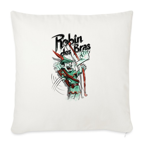 Robin des Bras - Sofa pillowcase 17,3'' x 17,3'' (45 x 45 cm)