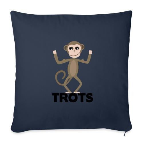 apetrots aapje wat trots is - Sierkussenhoes, 45 x 45 cm