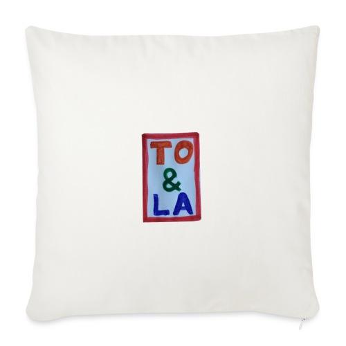TO & LA - Poszewka na poduszkę 45 x 45 cm
