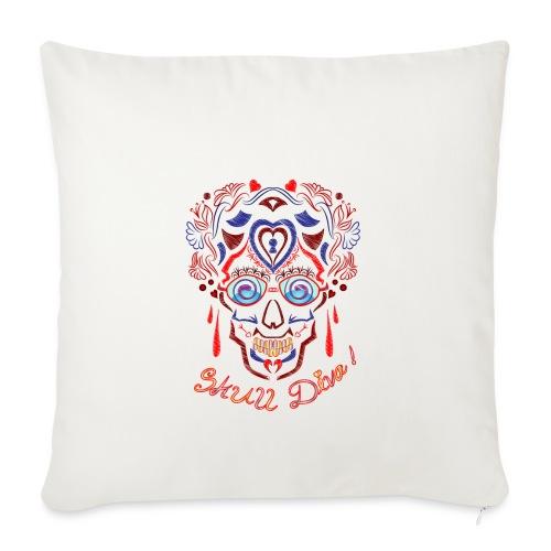 Skull Tattoo Art - Sofa pillowcase 17,3'' x 17,3'' (45 x 45 cm)
