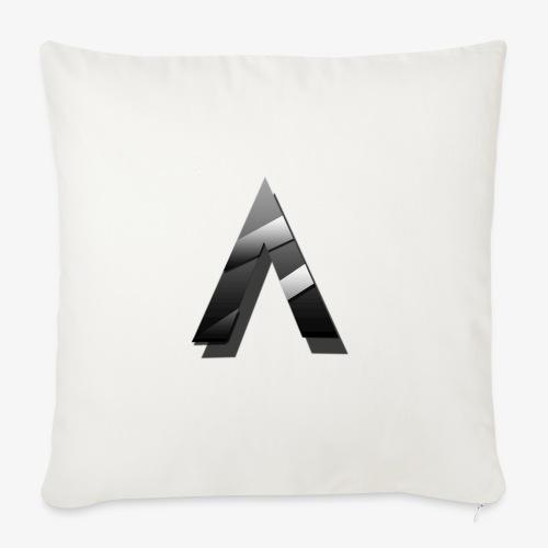A for Arctic - Housse de coussin décorative 45x 45cm
