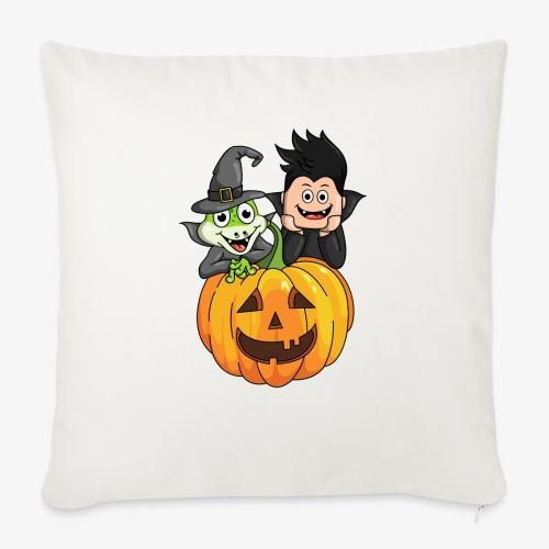 Tomu och Ödlan Halloween - Soffkuddsöverdrag, 45 x 45 cm