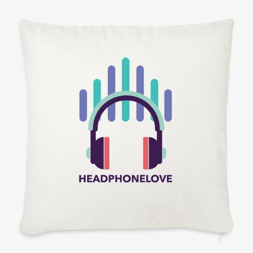 headphonelove - Sofakissenbezug 44 x 44 cm