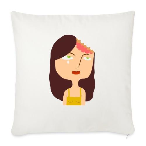 Psychological Violence - Sofa pillowcase 17,3'' x 17,3'' (45 x 45 cm)
