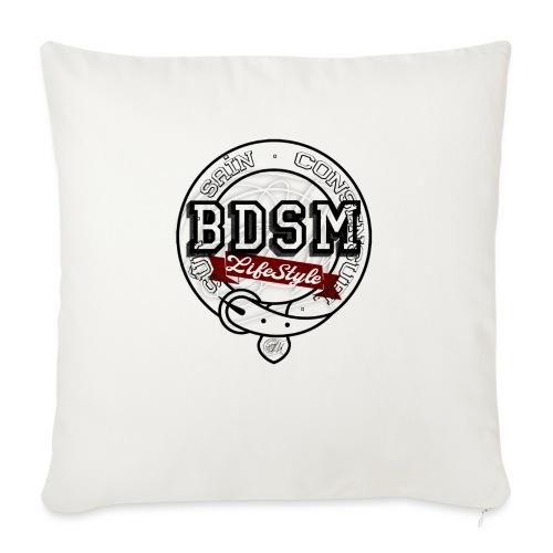BDSMLifeStyle - Housse de coussin décorative 45x 45cm