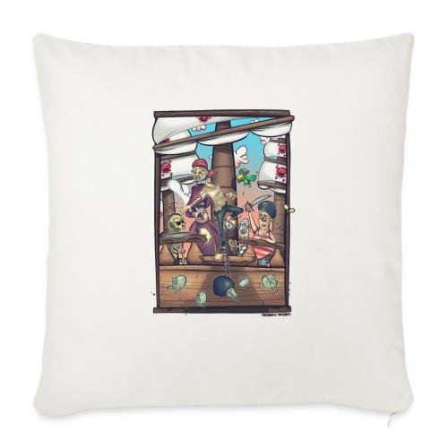 les pirates - Housse de coussin décorative 45x 45cm