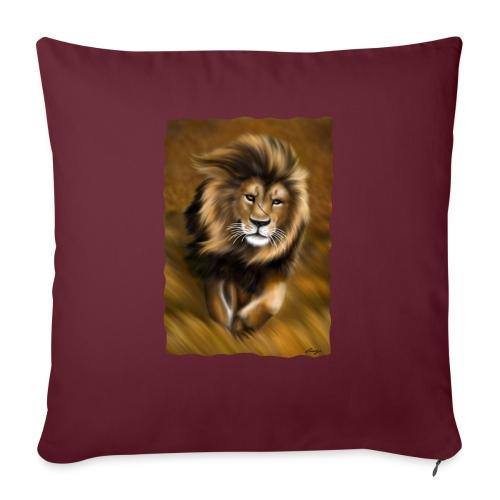 Il vento della savana - Copricuscino per divano, 45 x 45 cm