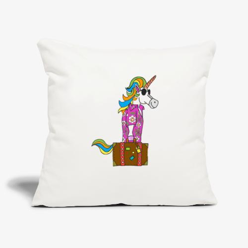 Unicorn trip - Housse de coussin décorative 45x 45cm
