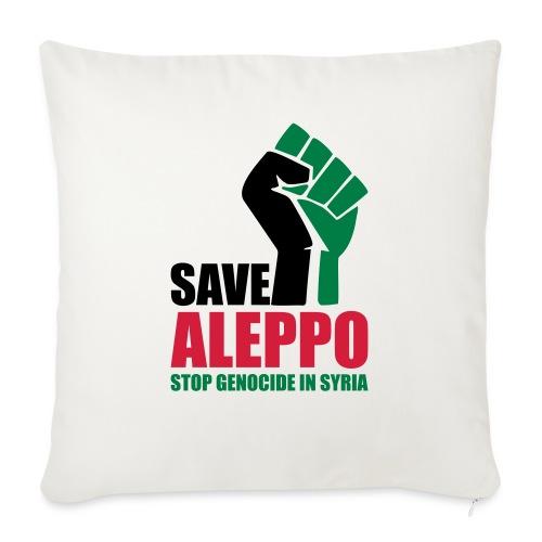 SAVE ALEPPO - Sofa pillowcase 17,3'' x 17,3'' (45 x 45 cm)