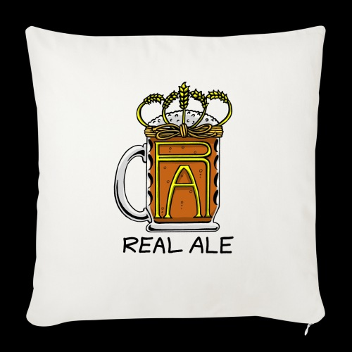Real Ale - Sofa pillowcase 17,3'' x 17,3'' (45 x 45 cm)