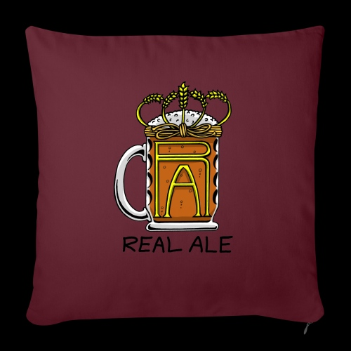 Real Ale - Sofa pillowcase 17,3'' x 17,3'' (45 x 45 cm)