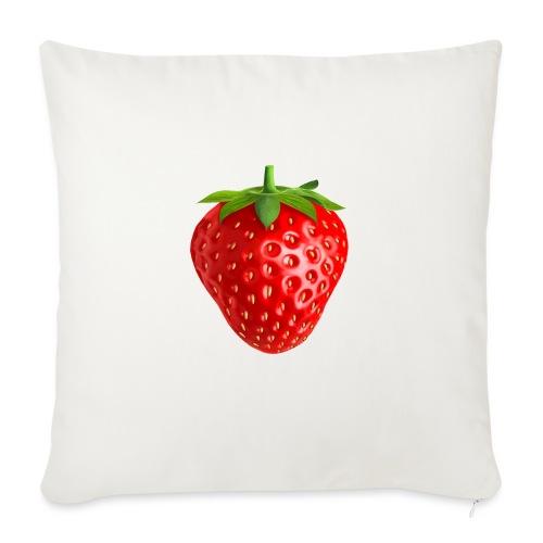 Strawberry Trip - Soffkuddsöverdrag, 45 x 45 cm
