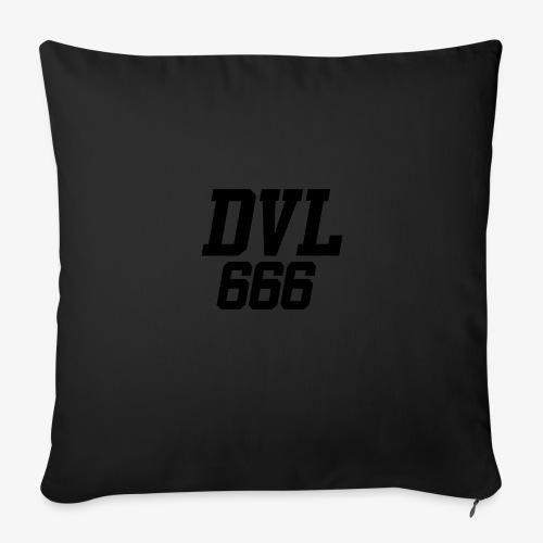 DVL666 - Funda de cojín, 45 x 45 cm