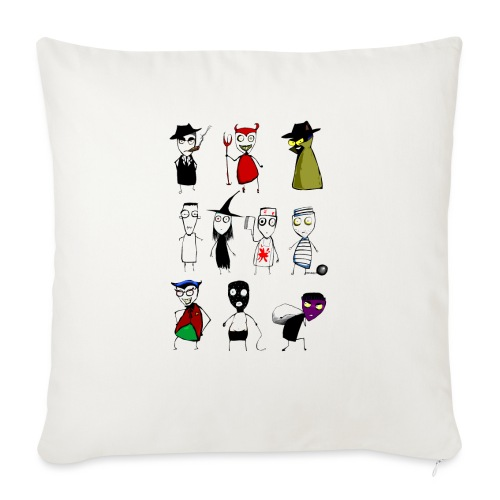 Bad to the bone - Sofa pillowcase 17,3'' x 17,3'' (45 x 45 cm)