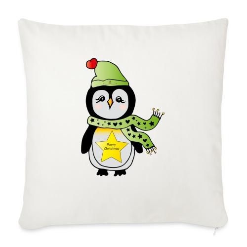 Christmas Pinguin - Sofakissenbezug 44 x 44 cm