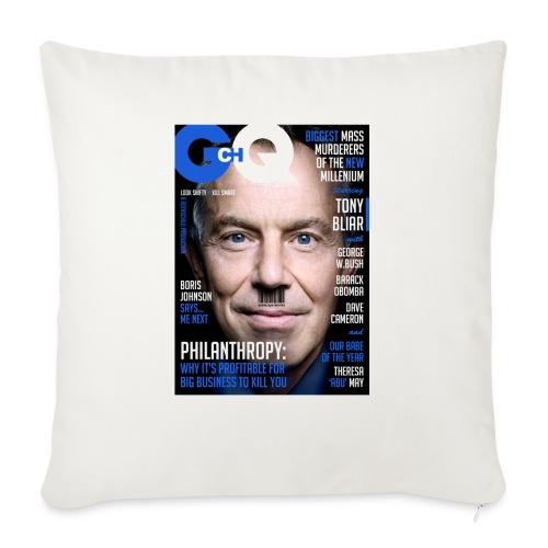 GCHQ Magazine - Sofa pillowcase 17,3'' x 17,3'' (45 x 45 cm)