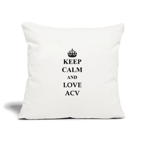 Keep Calm and Love ACV - Sofakissenbezug 44 x 44 cm