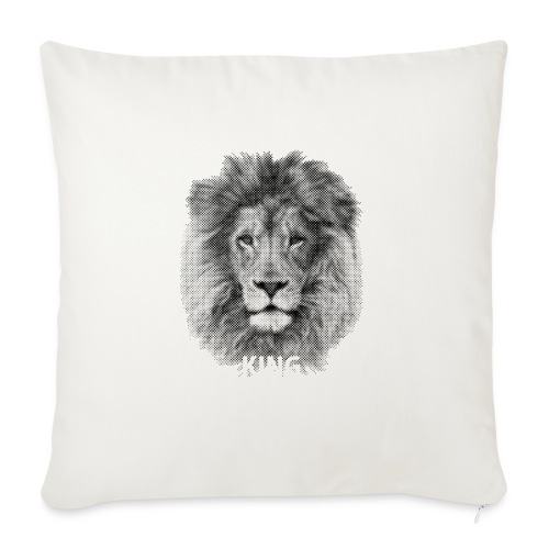 Lionking - Sofa pillowcase 17,3'' x 17,3'' (45 x 45 cm)