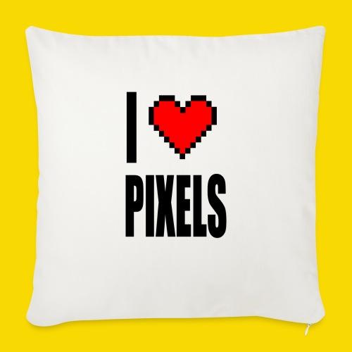 I Love Pixels - Poszewka na poduszkę 45 x 45 cm