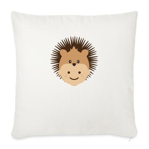 Fin the Hedgehog | Ibbleobble - Sofa pillowcase 17,3'' x 17,3'' (45 x 45 cm)