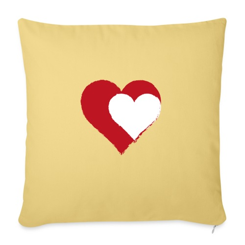2LOVE - Sofa pillowcase 17,3'' x 17,3'' (45 x 45 cm)
