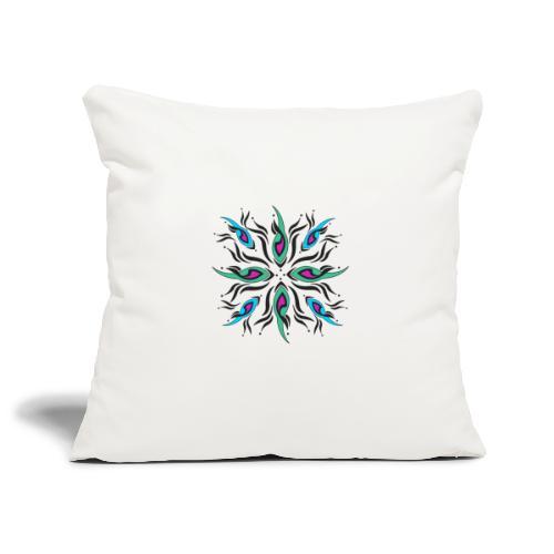 motivo astratto multicolore - Copricuscino per divano, 45 x 45 cm