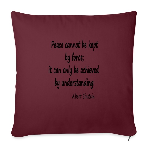 Achieve Peace - Sofa pillowcase 17,3'' x 17,3'' (45 x 45 cm)