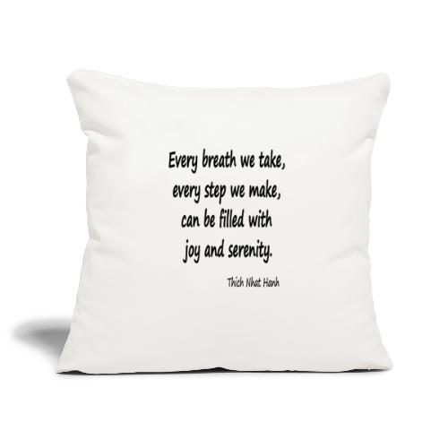 24/7 Peace - Sofa pillowcase 17,3'' x 17,3'' (45 x 45 cm)