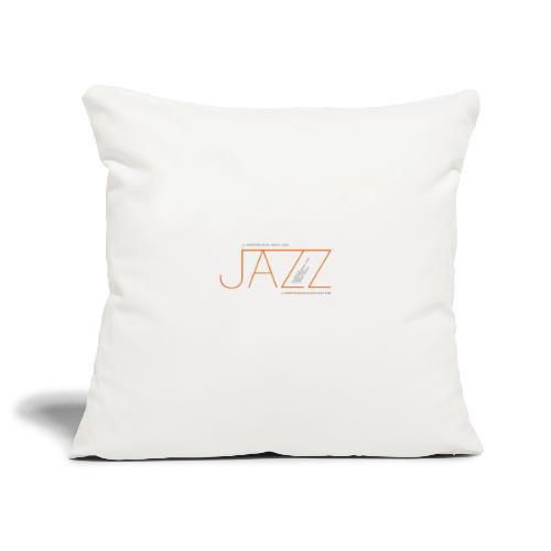 La Montaña Rusa Radio Jazz Modelo, blanco backgr - Funda de cojín, 45 x 45 cm